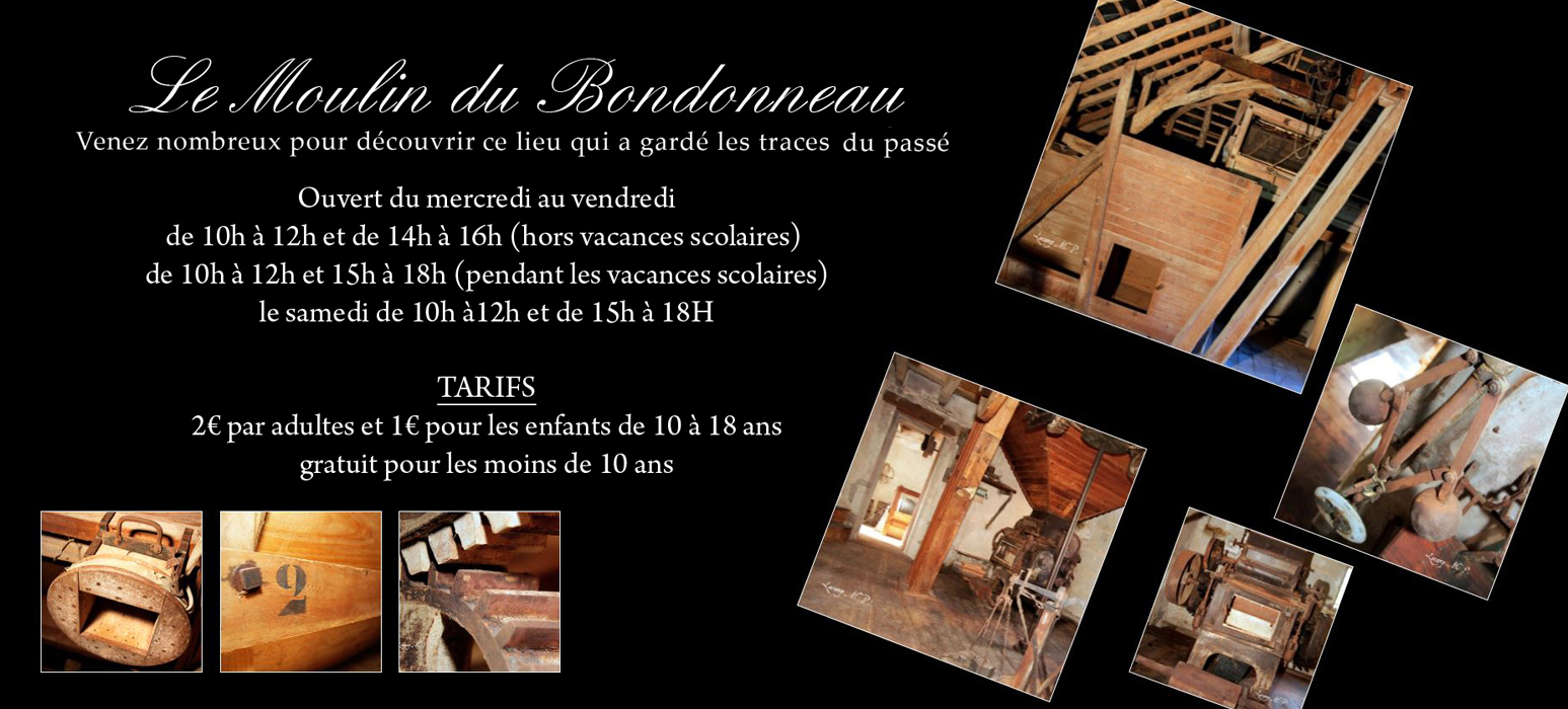 flyer moulin du Bondonneau